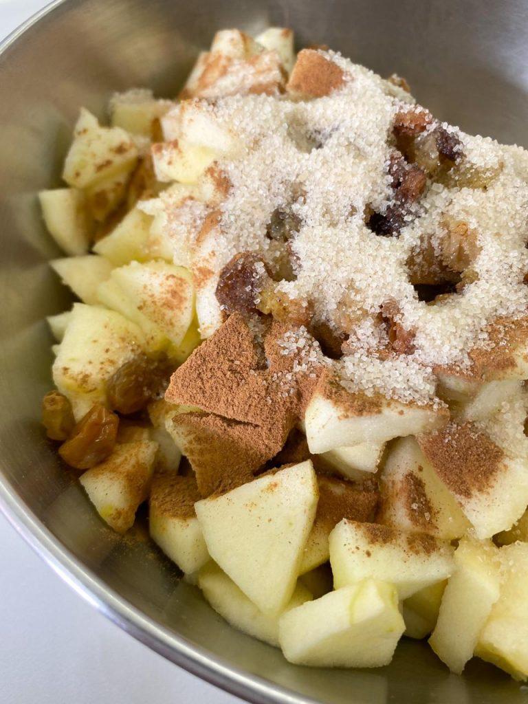 Crumble Apple Pie 04